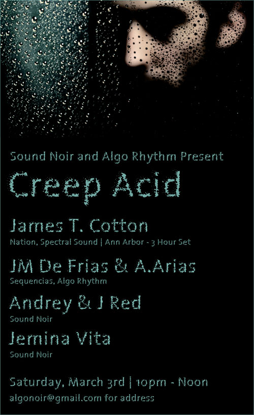 Creep Acid - James T. Cotton